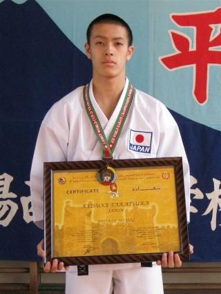 銅メダルに輝いた高塚選手
