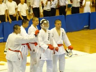 男子団体組1