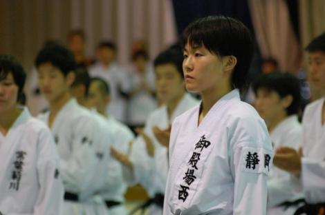静岡県高校新人大会組手競技結果