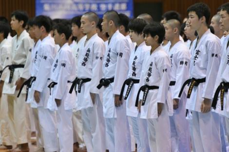 静岡県高等学校新人大会個人組手競技