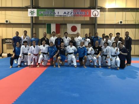 イタリアチーム合同練習!