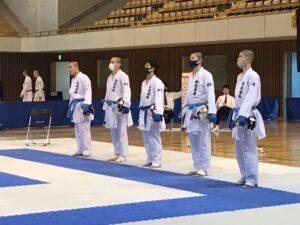 静岡県高校総体「組手競技」