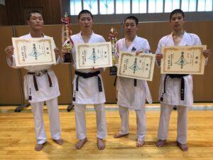 静岡県空手道連盟選手権大会結果