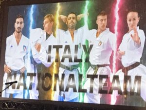 イタリアナショナルチーム交流  「FORZA!AZZURRI」